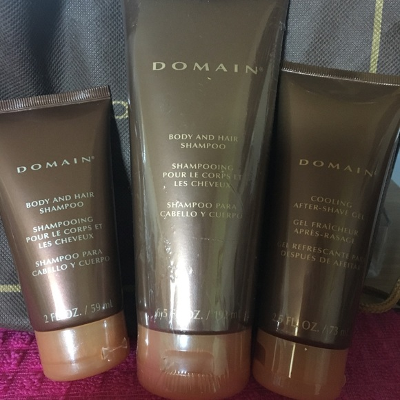 Other Mens Domain Hair And Body Shampoo And After Shave Poshmark